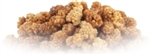 Organic Wildcrafted White Mulberries