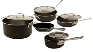 All-Clad® 9 Piece LTD Cookware Set