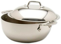 "10 1/2 x 4"" All-Clad® Stainless 3-PLY Bonded Dutch Oven"