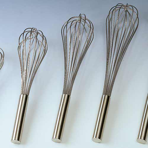 Strong Hand Whisk made of stainless steel. H. 9.84""