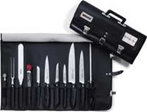 11pc F. Dick Chef's Set in Roll Bag