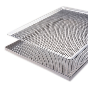 "Demarle Aluminum Perforated Baking Sheet Tray 26"" X 18"""