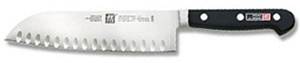 "7"" J.A. Henckels Professional S Santoku Hollow Edge Knife"