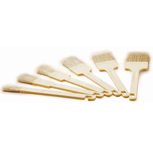 how to clean a bristle pastry brush
