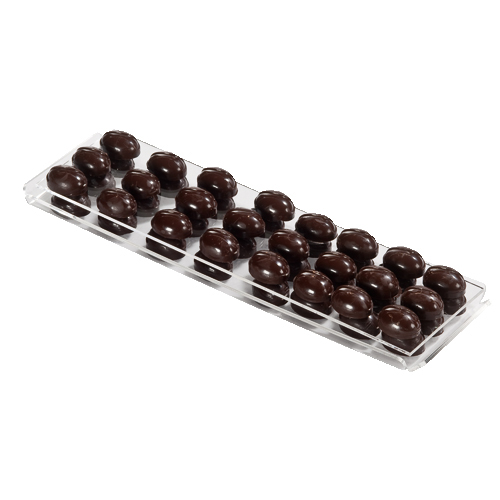 Transparent  Tray for Chocolate