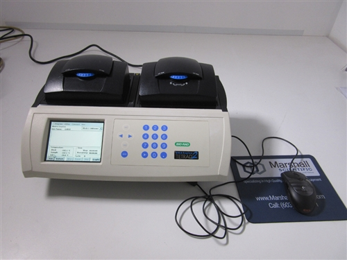 Bio Rad DNA Engine Tetrad 2 Thermal Cycler with 2 blocks