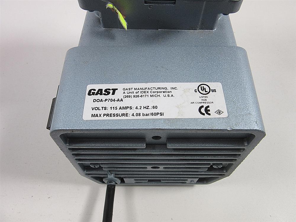 Gast DOA-P704-AA Vacuum Pump on