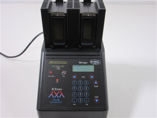 MJ Research PTC-200 Thermal Cycler with Dual Slide Alpha Block