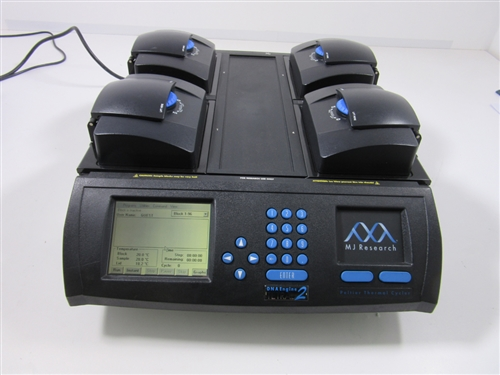 MJ Research Tetrad 2 Thermal Cycler with 4 blocks