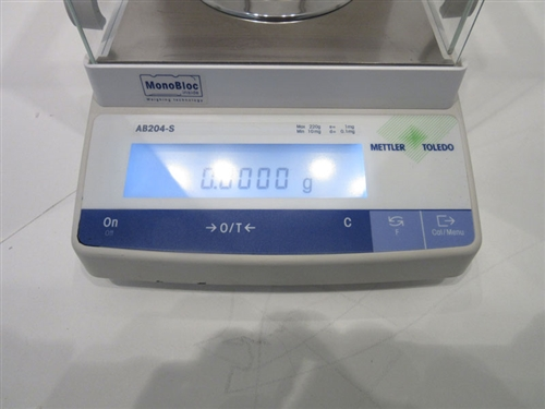 mettler toledo ab204 s analytical balance marshall scientific rh marshallscientific com  mettler ab204 service manual