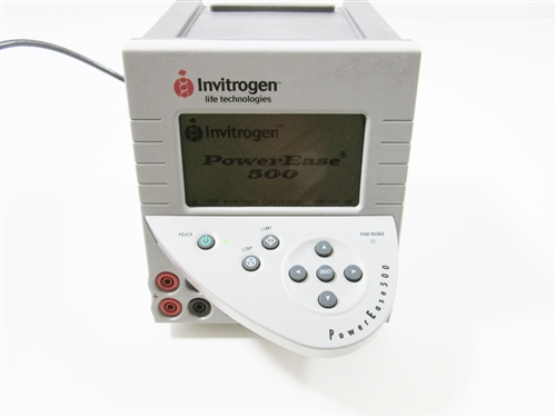 Invitrogen PowerEase 500 Electrophoresis Power Supply