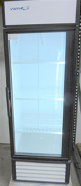 VWR True Single Glass Door Chromatography Refrigerator