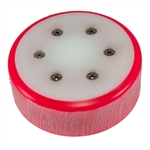 CanAm Uni2 Puck - Bright Red with White Slider