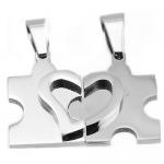 Stainless Steel 2 Piece Pendant