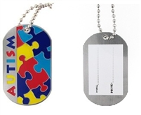 Autism ID Necklace