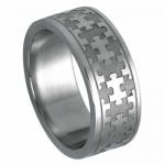Stainless Steel Puzzle Band