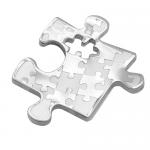Stainless Steel Puzzle Charm