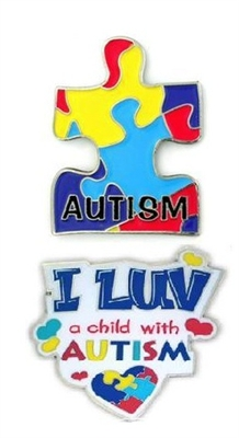 Autism Awareness Pins
