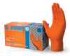 LARGE ORANGE NITRILE PF GLOVES