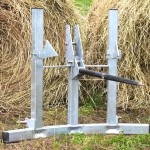 Round Bale Feeder and Hay Saver Cone