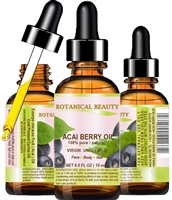 Botanical Beauty ACAI BERRY OIL