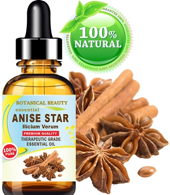 Botanical Beauty ANISE STAR ESSENTIAL OIL 100% Pure