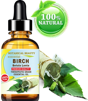 Botanical Beauty BIRCH OIL Betula lenta Essential Oil