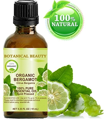 Botanical Beauty BERGAMOT ORGANIC Essential Oil