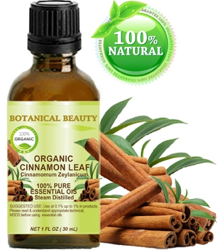 Botanical Beauty ORGANIC CINNAMON LEAF OIL