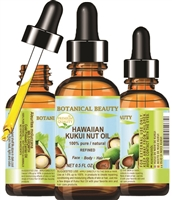Botanical Beauty KUKUI NUT OIL HAWAIIAN