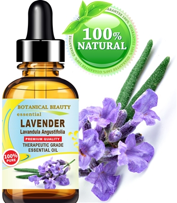 Botanical Beauty LAVENDER ESSENTIAL OIL 100% Pure