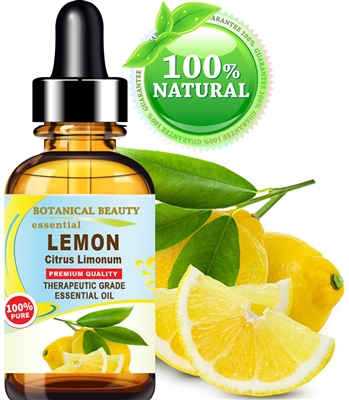 Botanical Beauty LEMON ESSENTIAL OIL 100% Pure