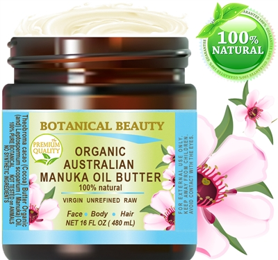 Botanical Beauty Organic MANUKA OIL BUTTER RAW Australian