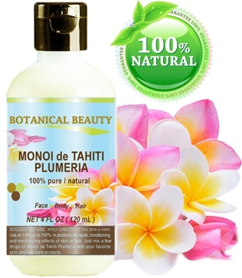 Monoi De Tahiti Oil Plumeria Botanical Beauty