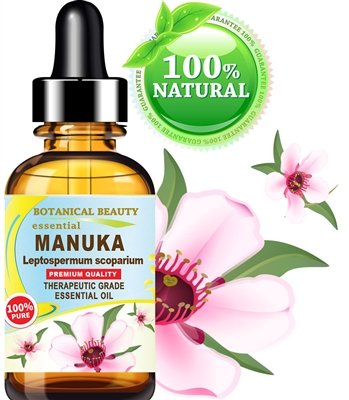 Botanical Beauty MANUKA ESSENTIAL OIL Leptospermum scoparium