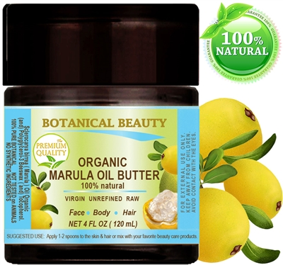 Botanical Beauty MARULA OIL BUTTER RAW ORGANIC