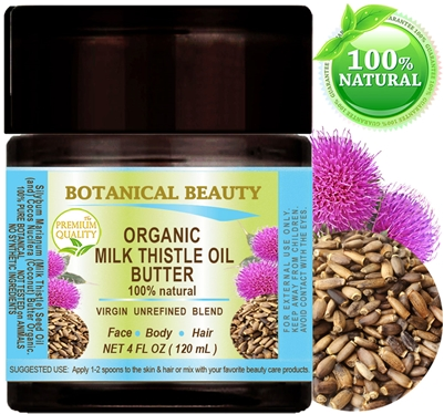 Botanical Beauty MILK THISTLE OIL BUTTER