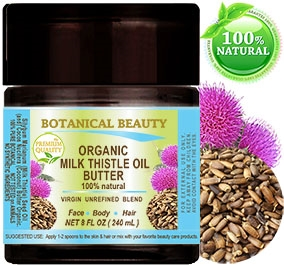 Milk Thistle Oil Butter Botanical Beauty