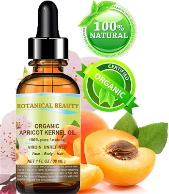 Botanical Beauty ORGANIC APRICOT KERNEL OIL