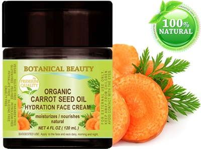 Botanical Beauty CARROT SEED OIL HYDRATION FACE CREAM