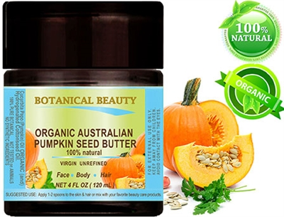 Botanical Beauty ORGANIC PUMPKIN SEED OIL BUTTER
