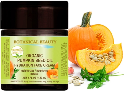 Botanical Beauty PUMPKIN SEED OIL HYDRATION FACE CREAM