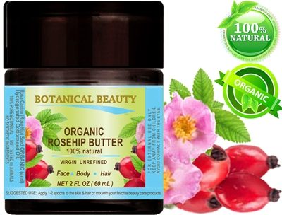 Botanical Beauty ORGANIC Rosehip oil butter