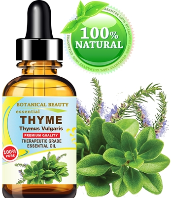 Botanical Beauty THYME ESSENTIAL OIL 100% Pure