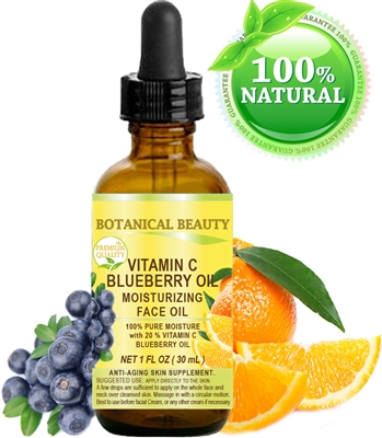 Botanical Beauty VITAMIN C BLUEBERRY Face OIL
