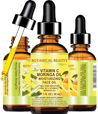 Botanical Beauty VITAMIN C MORINGA Face OIL