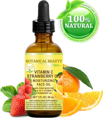 Botanical Beauty VITAMIN C STRAWBERRY Face OIL