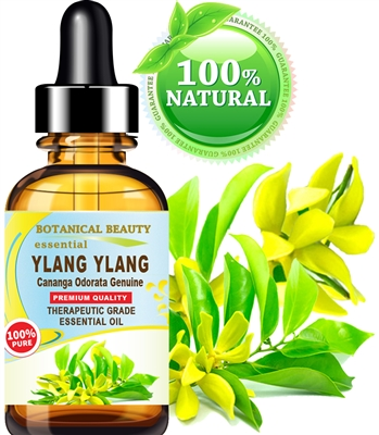 Botanical Beauty YLANG YLANG ESSENTIAL OIL 100% Pure