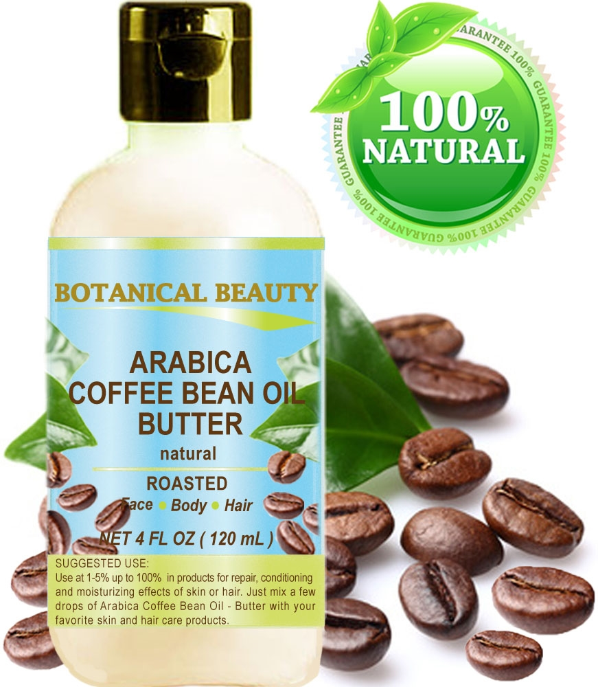 Arabica Coffee Bean Oil Butter Botanical Beauty