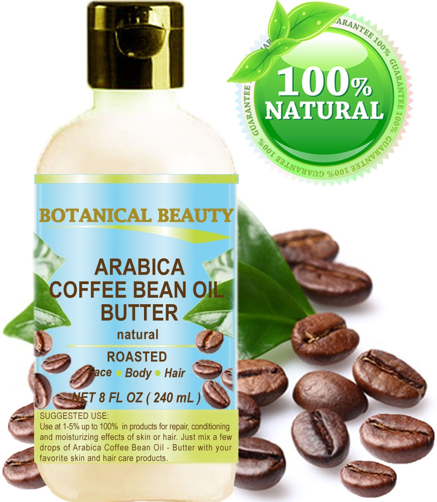 Botanical Beauty ARABICA COFFEE BEAN oil BUTTER